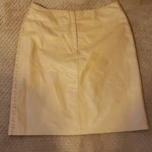 Express Skirts - Express authentic leather skirt